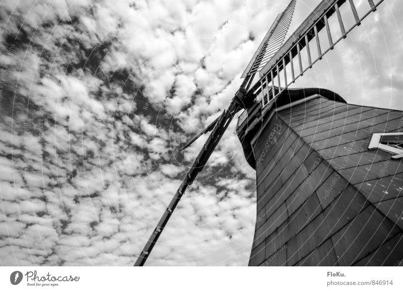 Sky Nature Clouds Dark Weather Wind Threat Pinwheel Mill Windmill vane