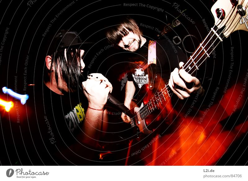 Man Joy Emotions Style Hair and hairstyles Music Musician Blaze Action Musical instrument Shows Concert Rock music Band Hardcore