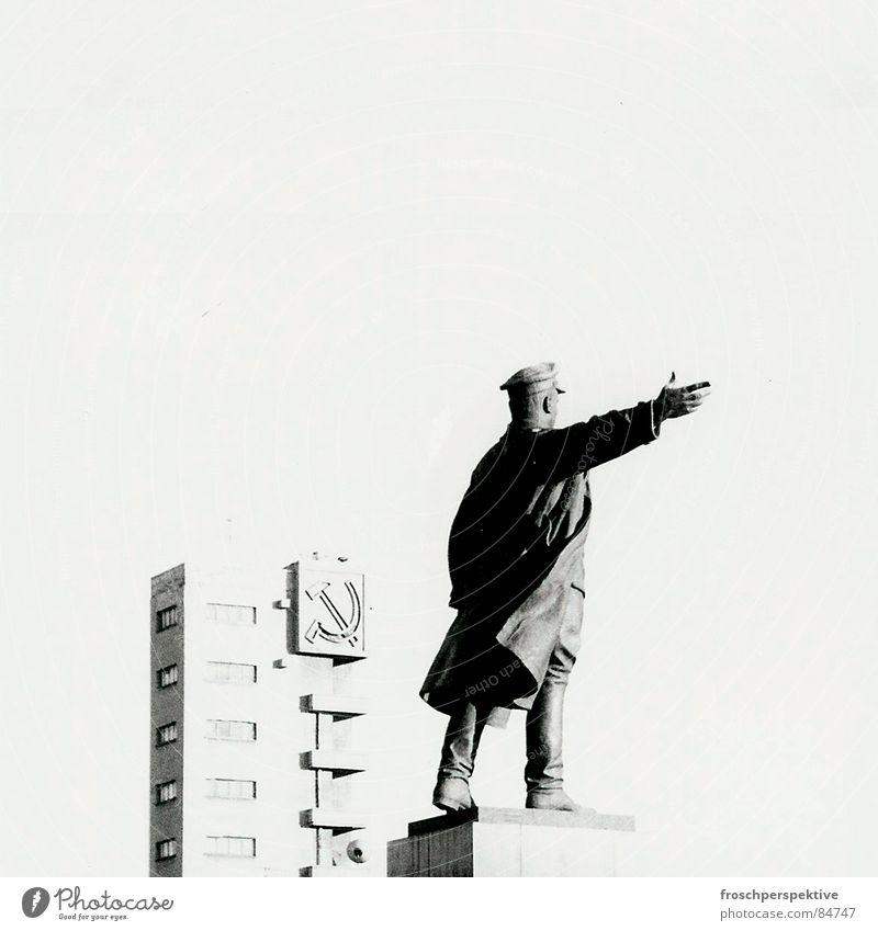 Old Freedom Building Europe Transience Derelict Statue Monument Russia Landmark Ideology Art Socialism Soviet Union Communism Lenin