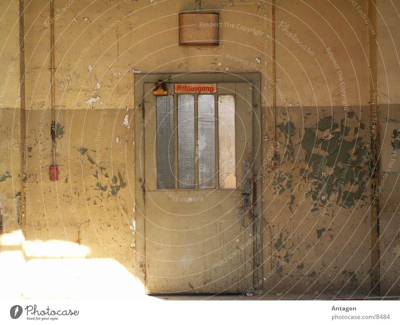 Door Industry Derelict Way out Emergency exit
