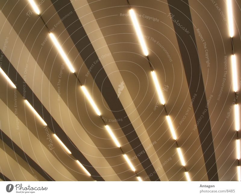tubes Neon light Skylight Stripe Architecture Lighting