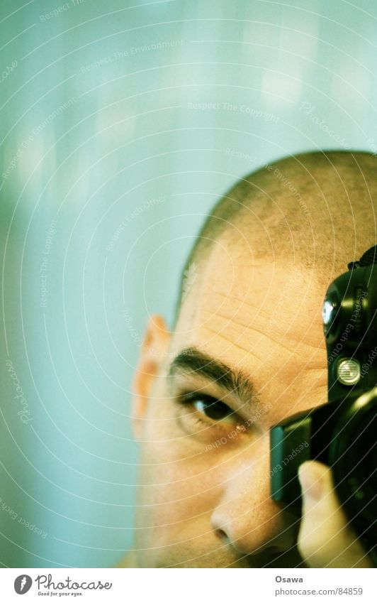 Human being Man Face Hair and hairstyles Head Nose Ear Bald or shaved head Fellow