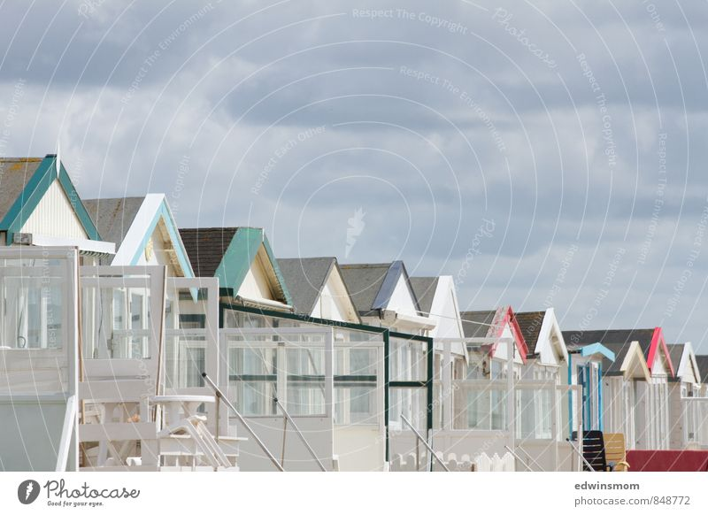 beach houses Vacation & Travel Summer Summer vacation Beach North Sea Netherlands House (Residential Structure) Beach hut Utilize Relaxation Dream