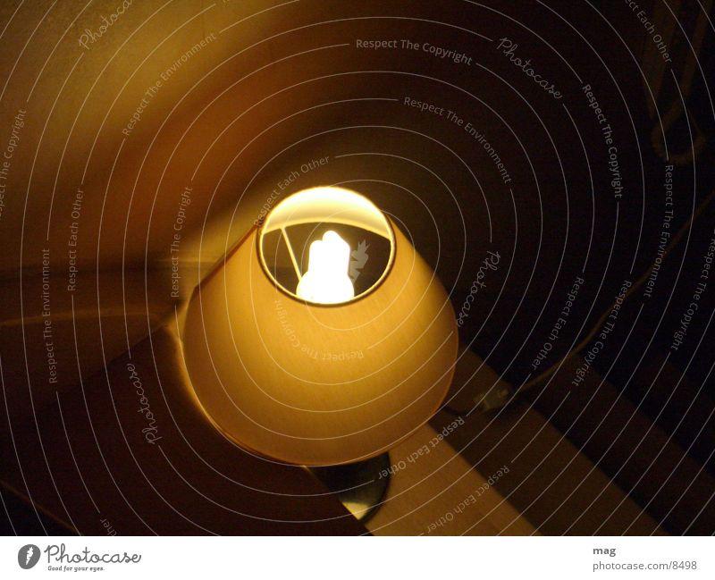 Lamp Stairs Living or residing Light Staircase (Hallway) Bird's-eye view Energy-saving bulb Night light