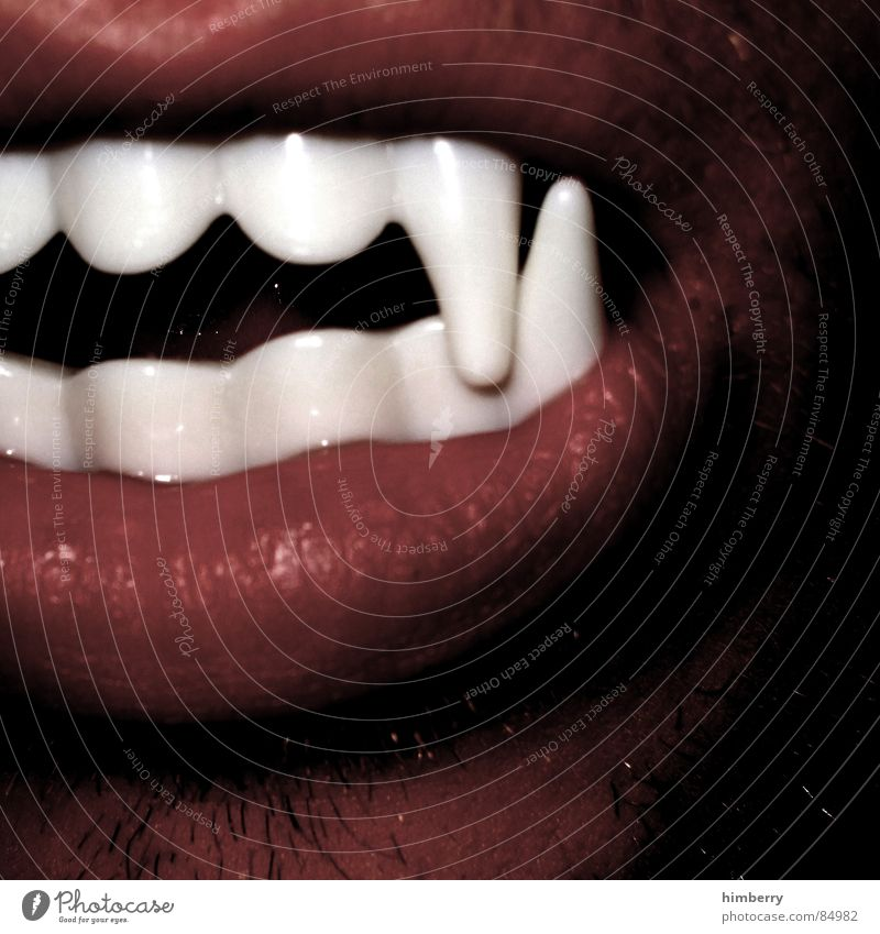 if not now when then? ;-) Dracula Vampire Carnival Fear Panic Joy Mouth Mask Teeth