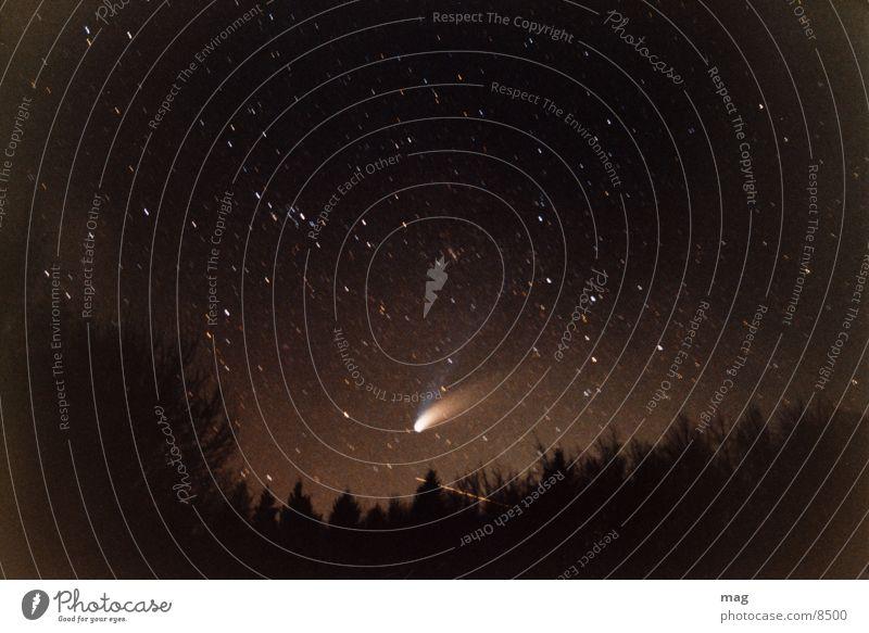 Stars Analog Starry sky Comet