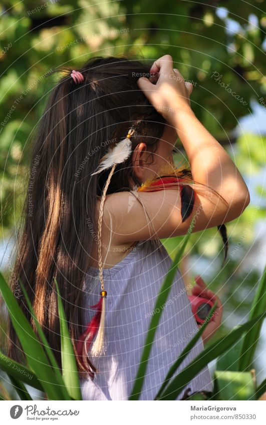 Little indian girl Lifestyle Vacation & Travel Trip Adventure Freedom Child Human being Girl Head Hair and hairstyles Hand 1 3 - 8 years Infancy Art Fashion