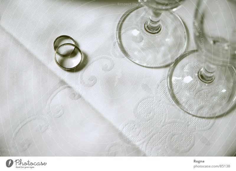 Love Metal Glass Exceptional Circle Wedding Trust Matrimony Occasion Promise