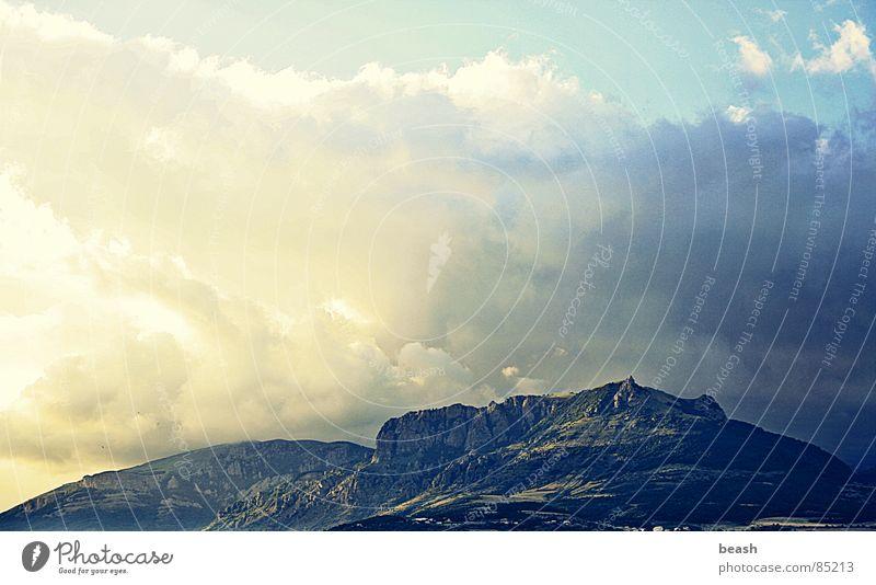 Sky Summer Clouds Mountain
