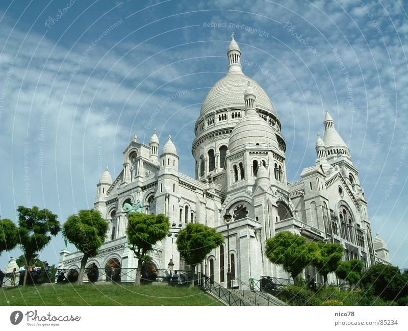 Basilique du Sacré-Cœur Church Paris Montmartre House of worship churches sacral building sacral buildings