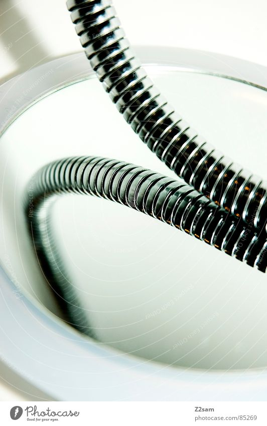 Water Metal Elegant Simple Mirror Things Shower (Installation) Personal hygiene Bathtub Transmission lines Hose Bend Reduce Meandering