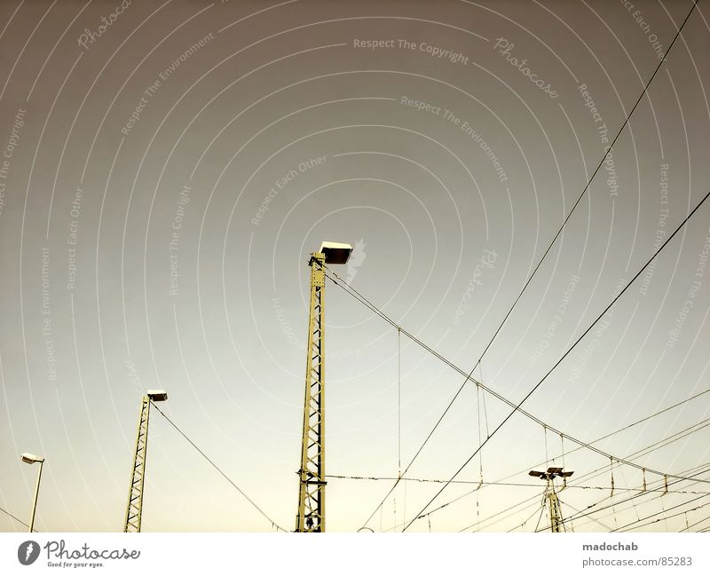 NETWORKING Connection Transmission lines Knot Chaos Transition Aspire Graphic Lantern Lamp Wire Electricity Power Sky Pattern Industrial Beautiful weather Smash