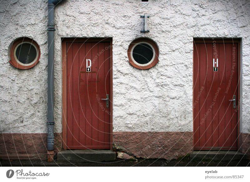 Workplace of Count v. Droste-Schattenburg Woman Rose window Toilet brush Montezuma's revenge Washhouse Gentleman Lady Toilet paper Window Ventilation Effluent