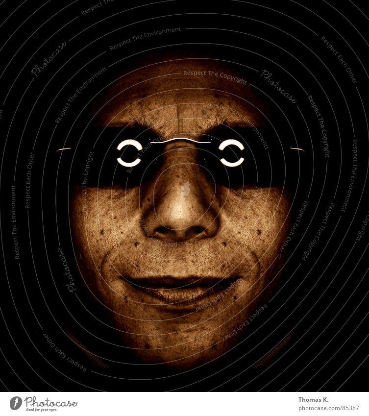 Virtual Symmetry Eyeglasses Sunglasses Facial hair Portrait photograph Black Face Hippie Brown Light Glass Hazel brown Hair loss Beige Shaft of light