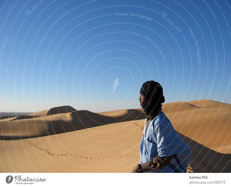 Loneliness Desert Tracks Longing Africa Beach dune Sahara Mauretania