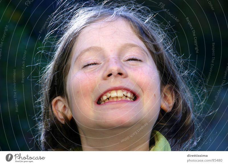 Ida Child Friendliness protrait Laughter Joy Grinning laugh softly