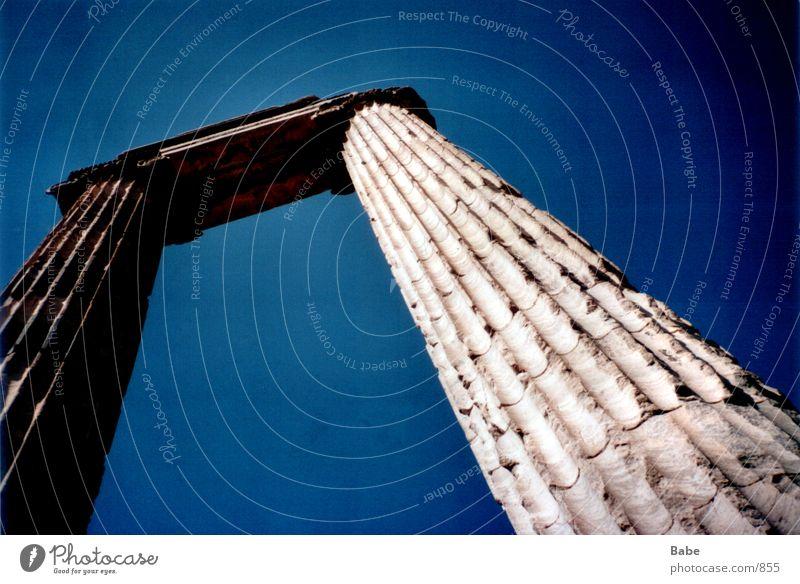 Architecture Column Greece Ancient