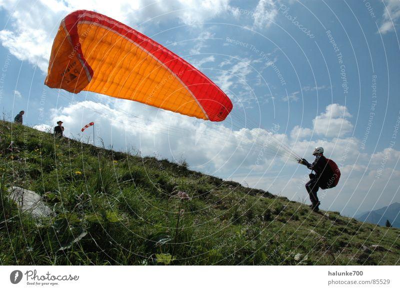 Jump Aviation Paragliding Departure Parachute Extreme sports Altitude flight
