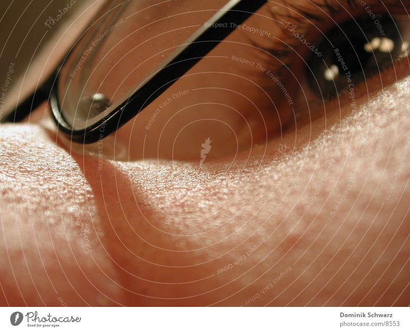 Human being Man Eyes Skin Glass Masculine Nose Eyeglasses Eyelash Lens Pupil Iris Vision