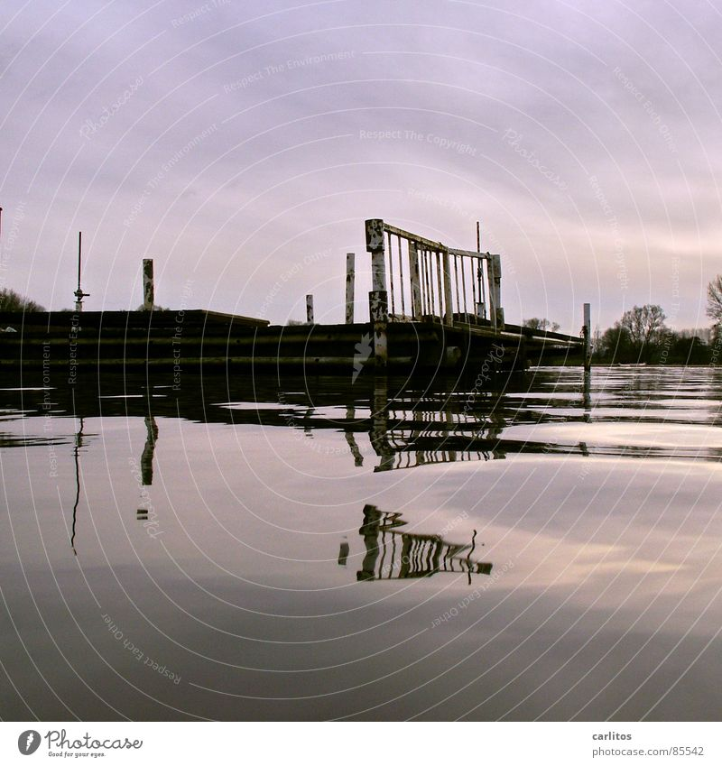 Winter Calm Cold Emotions Lake Think Watercraft Mirror Serene Division Double exposure Motionless Symmetry Patient Rowboat Comforting