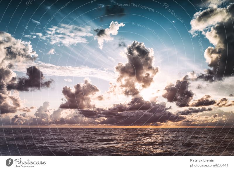 Sky Nature Sun Relaxation Ocean Loneliness Landscape Clouds Beach Environment Coast Air Weather Elegant Waves Wind