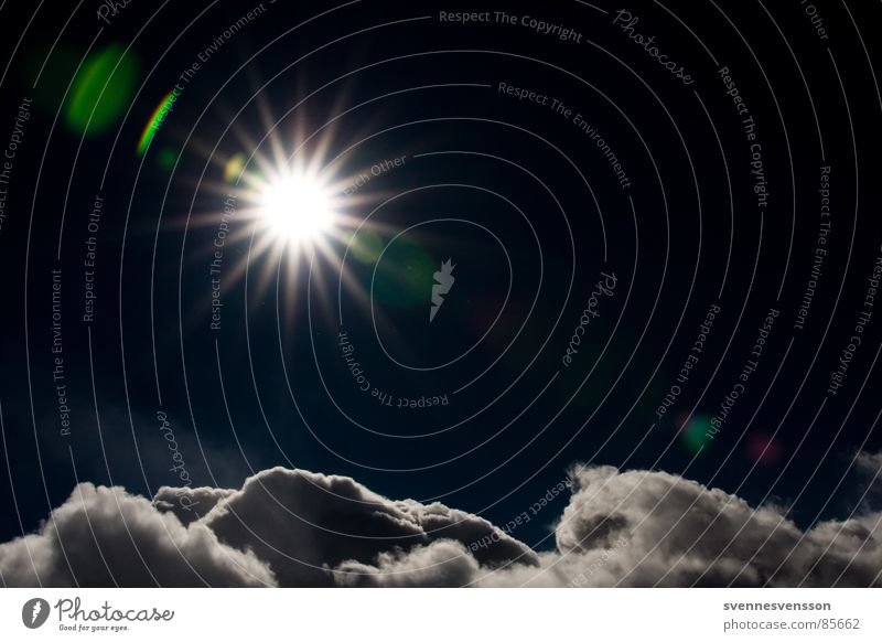 Sky Nature Blue Sun Clouds Environment Far-off places Dark Cold Snow Above Freedom Happy Horizon Ice Flying