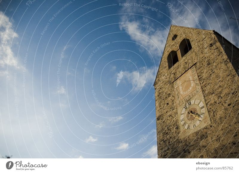 Sky Summer Vacation & Travel House (Residential Structure) Stone Air Religion and faith Weather Flying Large Perspective Might Tower Clock Historic Easy