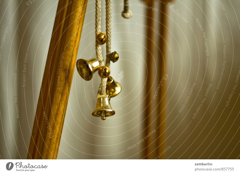 Christmas & Advent Anti-Christmas Metal Copy Space String Metalware Hang Bell Signal Noise Drum set Bronze Tripod Brass