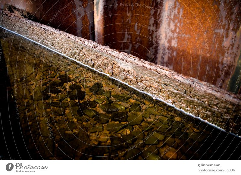 Water Old Movement Stone Watercraft Metal Logistics Floor covering Harbour Toilet Middle Café Steel Decline Rust Jetty
