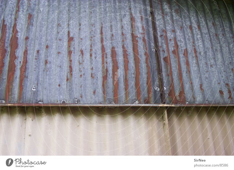 Wall (building) Building Architecture Rust Warehouse Tin