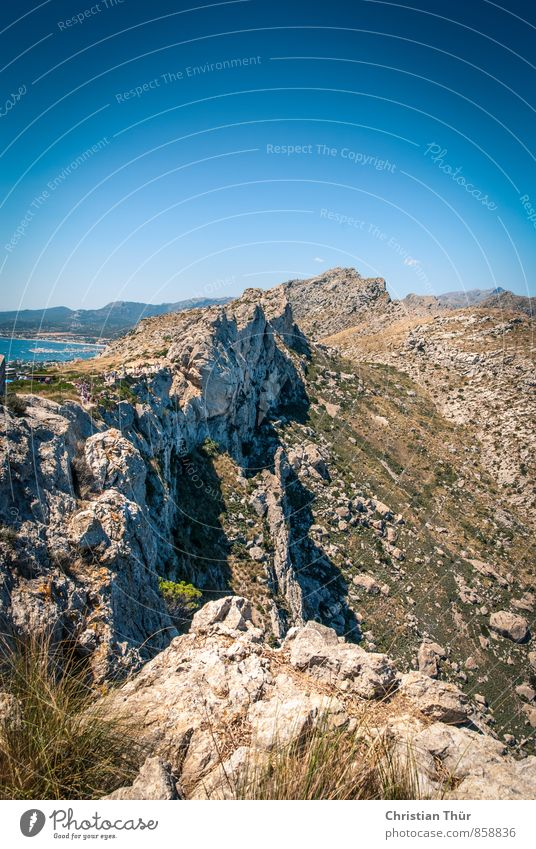 Tramuntana Mountains (Mallorca) Wellness Life Harmonious Well-being Contentment Relaxation Calm Vacation & Travel Tourism Trip Summer vacation Ocean Island