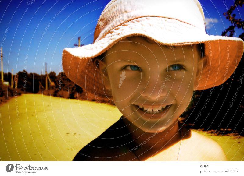 Child Joy Boy (child) Laughter Grinning
