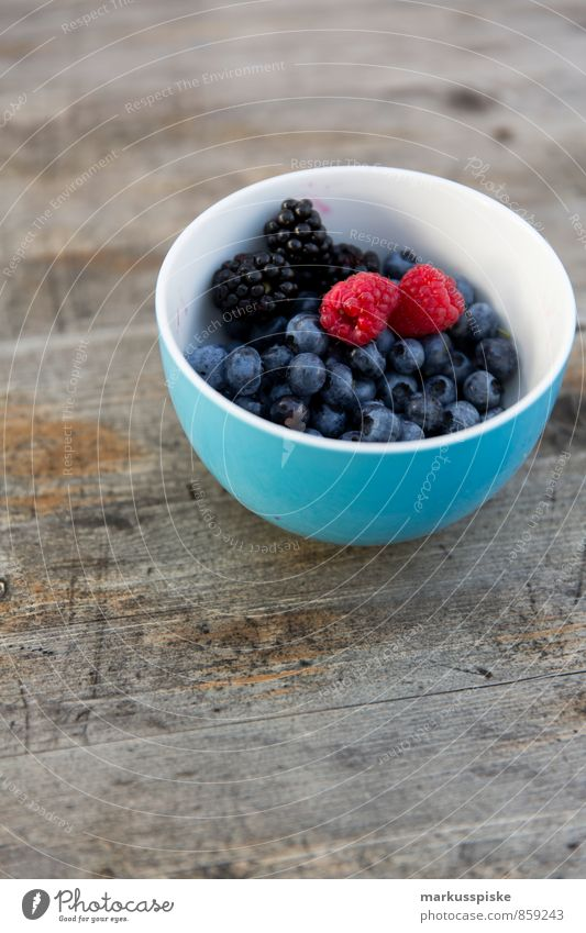 berries mixed Food Fruit Blackberry Blueberry Raspberry Bowl Nutrition Breakfast Lunch Picnic Organic produce Vegetarian diet Diet Fasting Slow food Finger food