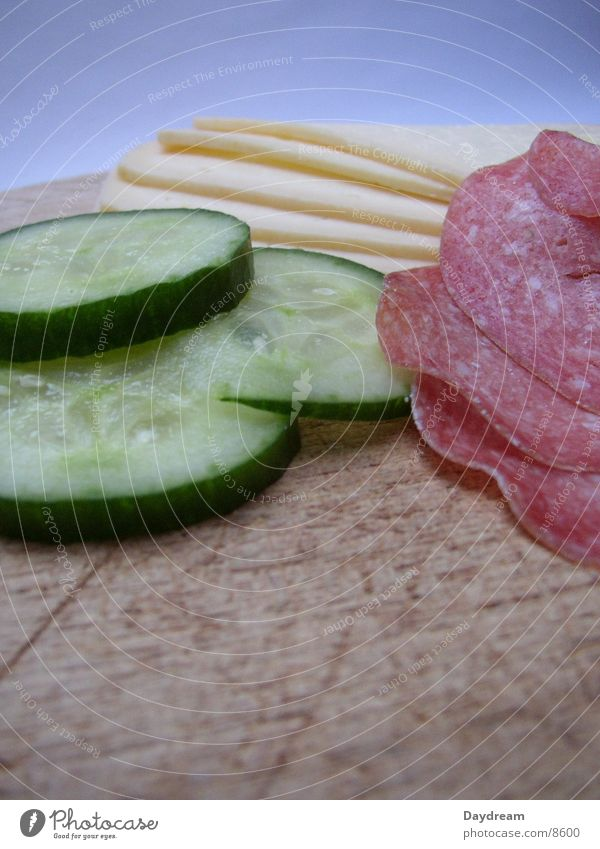 Nutrition Sausage Dinner Chopping board Cheese Brunch Meat Salami