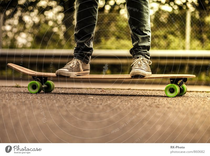 surf on street Lifestyle Style Joy Happy Athletic Leisure and hobbies Sports Longboard Skateboard Punk Accessory Footwear Chucks Cool (slang) Free Happiness