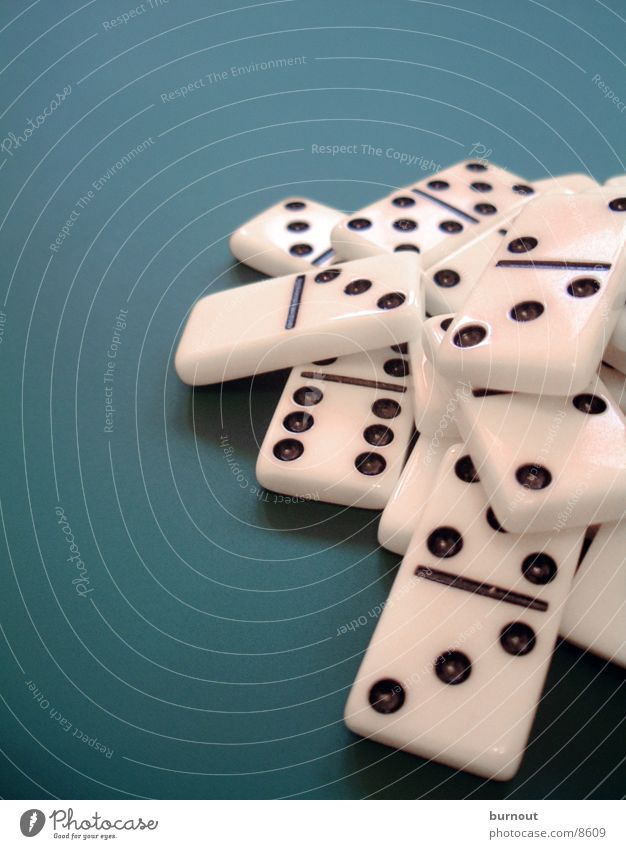 domino Playing Domino White Green Parlor games Planning Leisure and hobbies