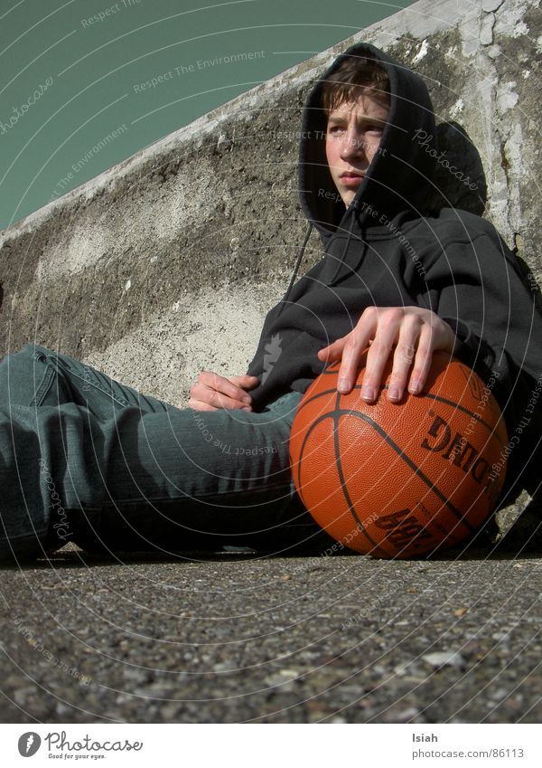 Dark Think Grief Ball Go under Basketball Ball sports Spalding