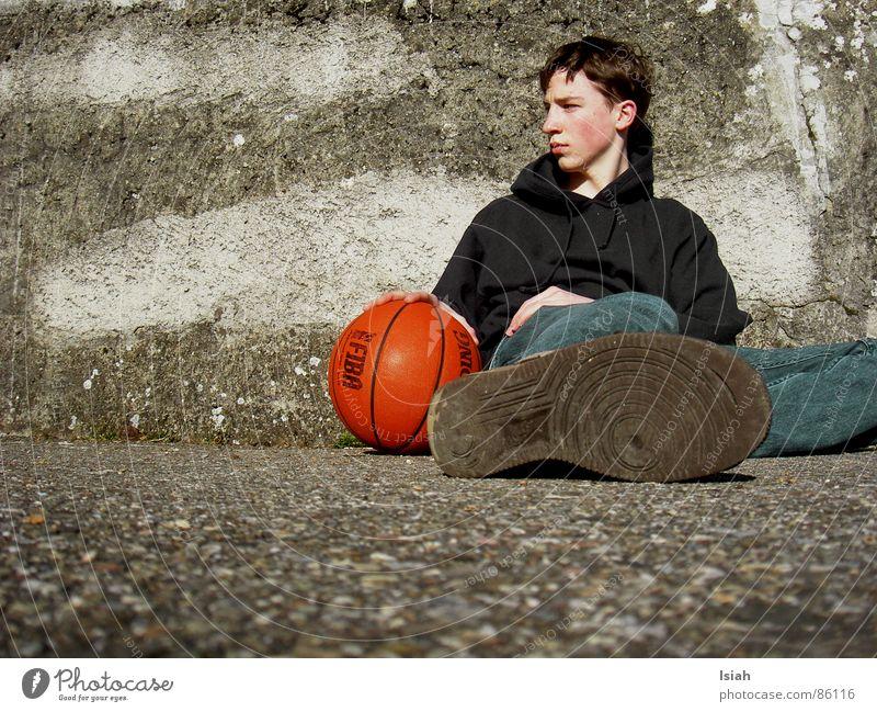 Dark Think Grief Ball Go under Basketball Ball sports Spalding