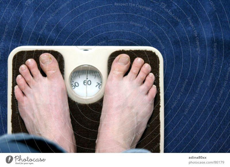 no worries Scale Healthy Diet Kilogram 50 Grief Interior shot Nutrition Feet weigh oneself gain 60 70 Joy