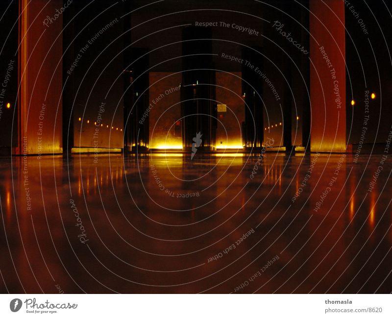 corridor Embers Light Hell Architecture Corridor
