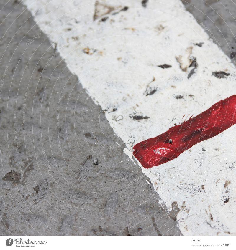 Trash! | Red Line (short version) Lanes & trails Navigation Inland navigation Ferry Metal Sign Dirty Broken Trashy Testing & Control Concentrate Arrangement