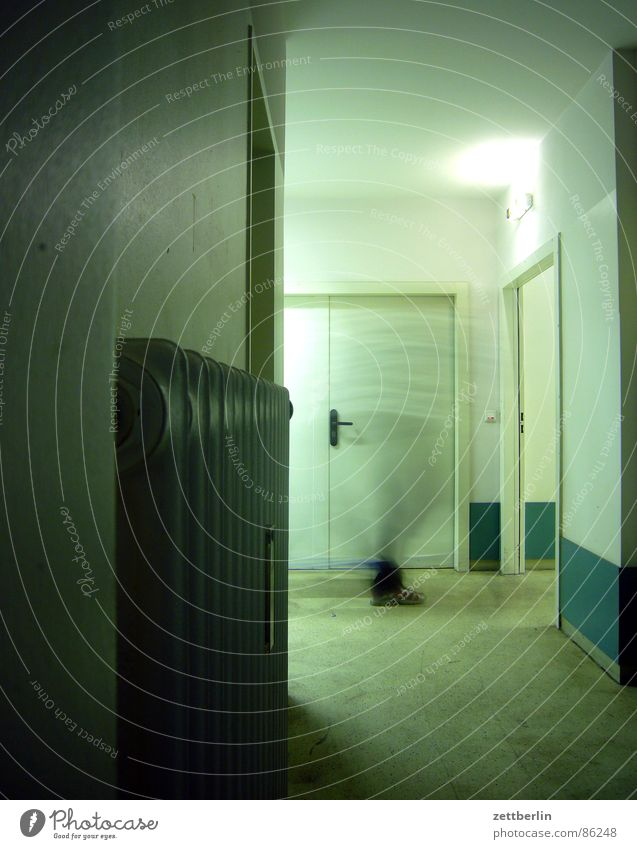 House (Residential Structure) Dark Feet Door Walking Transport Industry Observe Mysterious Services Hospital Hallway Door handle Heater Career Corridor