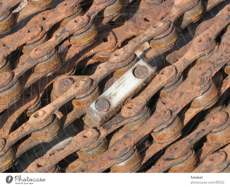rusty chain Impulsion Electrical equipment Technology Rust Chain Industrial Photography