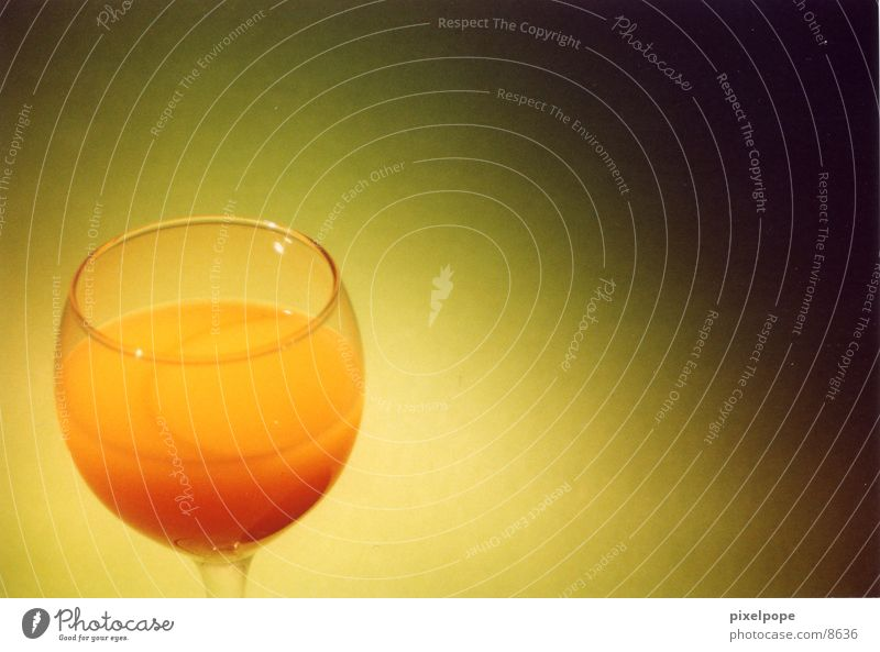 Green Orange Glass Juice Wine glass Beverage Photographic technology Orange juice Juice glass