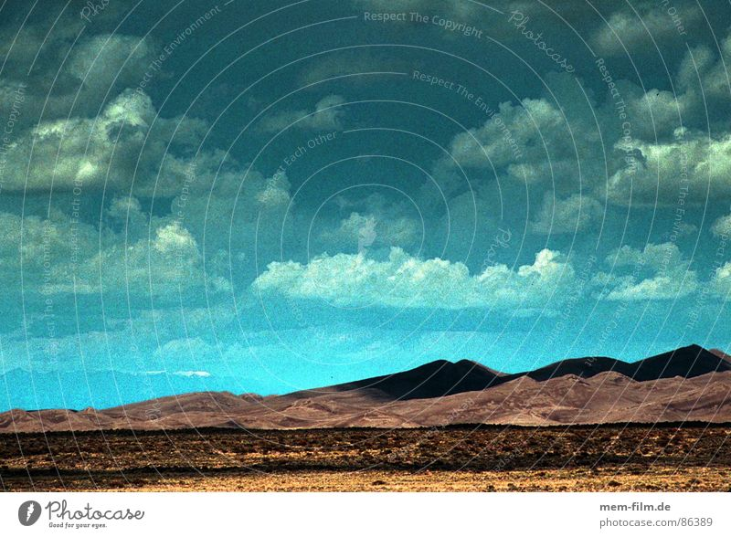 desert sky Sky Steppe Utah Clouds Dark USA Rain Americas Light Badlands Sun Drought Physics Environment Heat Nature Desert Africa Earth Sand dun stage Blue