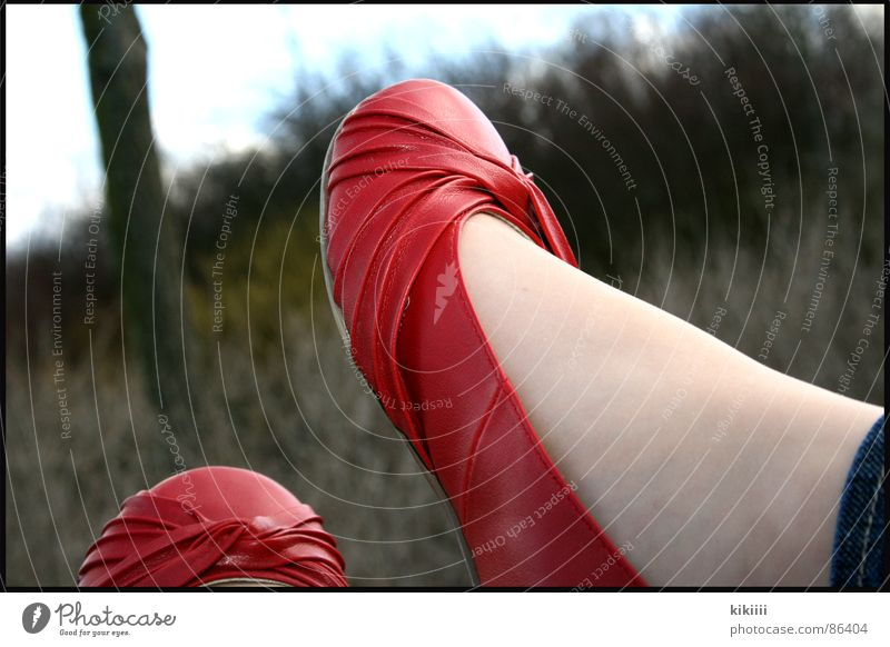 Red Summer Joy Black Relaxation Window Warmth Footwear Clothing Physics Mirror Hang Boredom Self portrait Ballerina