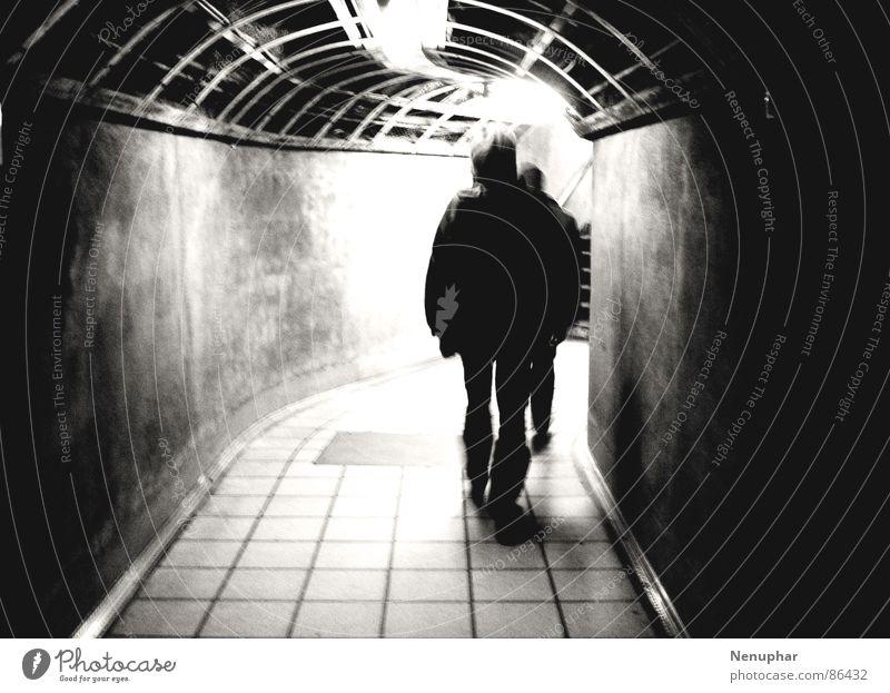 Loneliness Dark Derelict Tunnel Underground Entrance Upward Expectation Surprise London Underground Subsoil Pursue Chase Pedestrian underpass