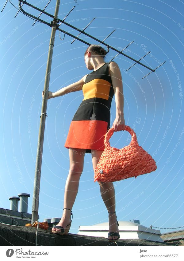 bagarella Bag Striped Antenna Roof Clothing rooftop Duesseldorf pouch