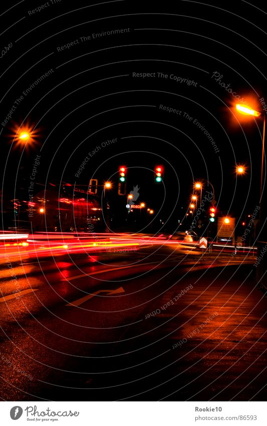Dark Street Lighting Lamp Line Dream Modern Mysterious Driving Traffic infrastructure Lightning Truck Floodlight Invisible Midnight Highway
