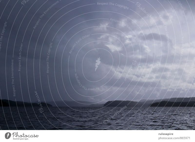 Sky Water Landscape Clouds Far-off places Forest Cold Coast Lake Horizon Air Weather Rain Fear Climate Dangerous
